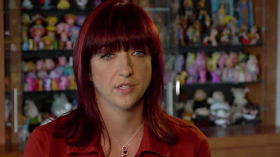 Lauren Faust being interviewed