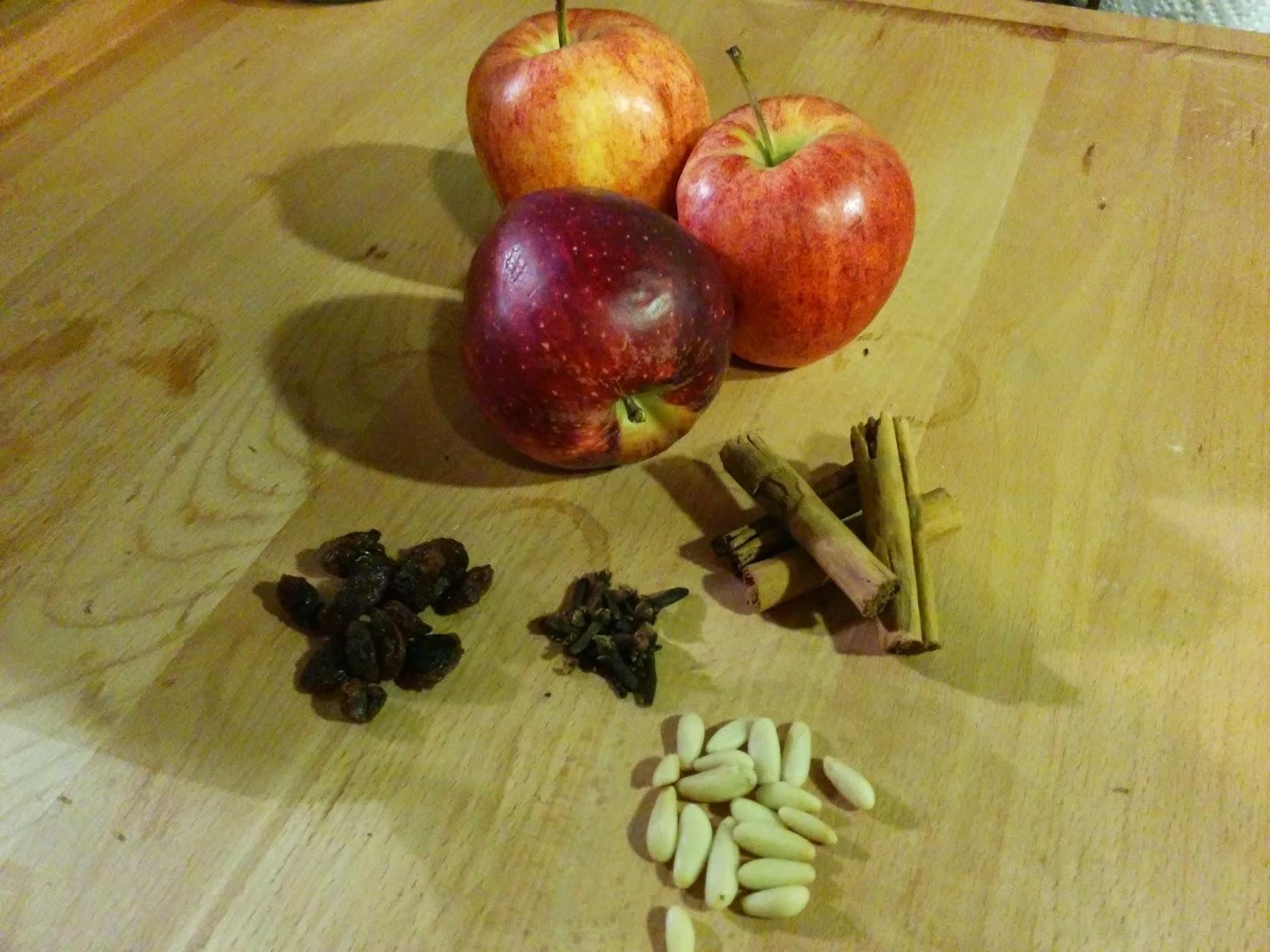 ingredienti della mela cotta