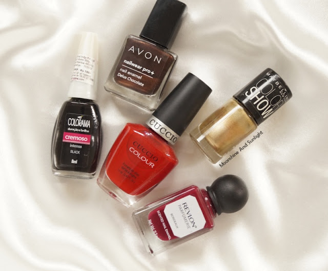 5 classic nail colors for winters