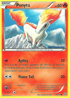 Ponyta Flashfire Pokemon Card