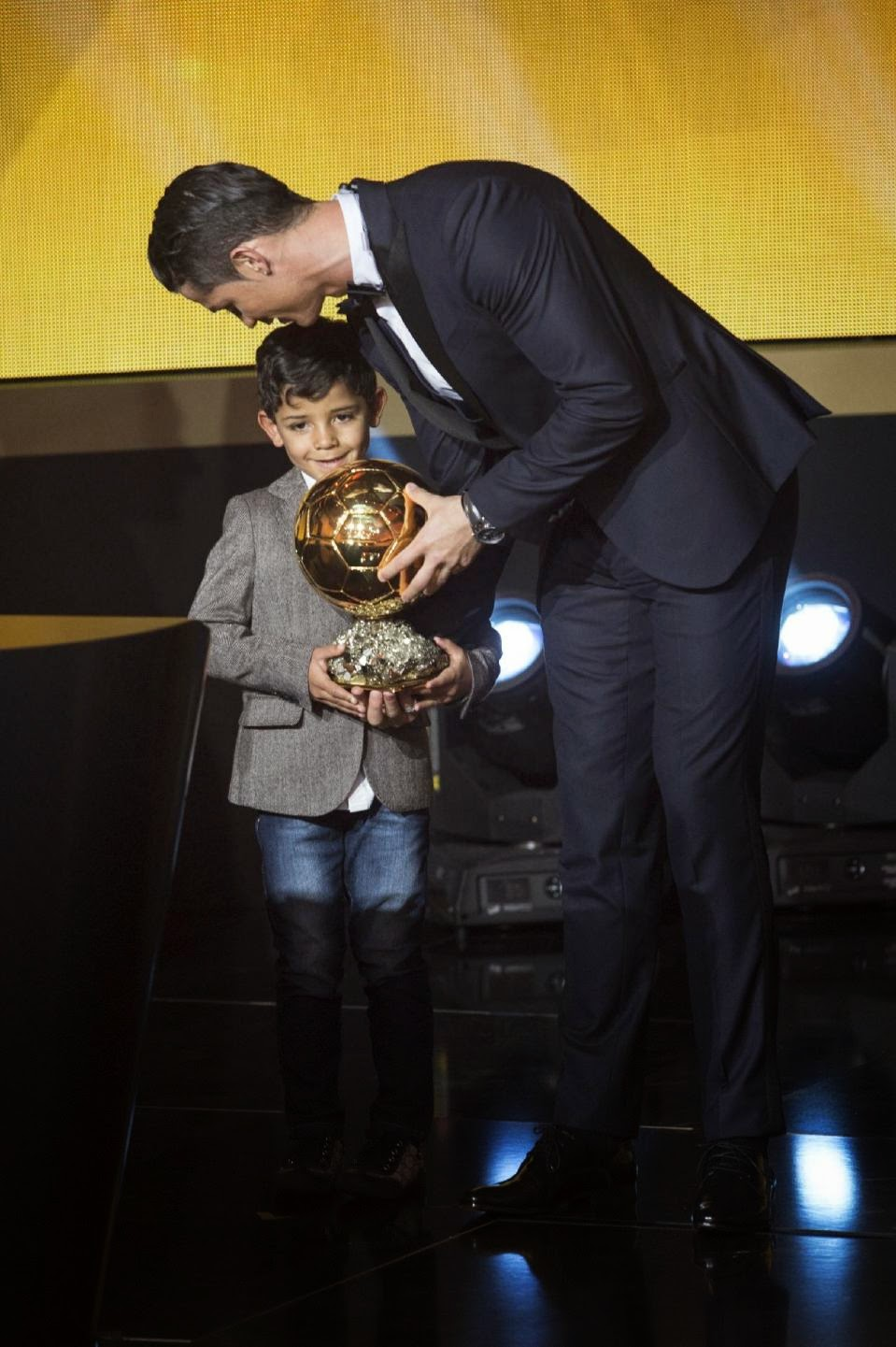 Cristiano Ronaldo, award, Ballon d'Or