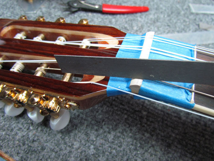 String slot repair