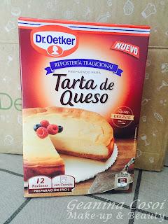 tarta de queso dr oetker degustabox septiembre 2015