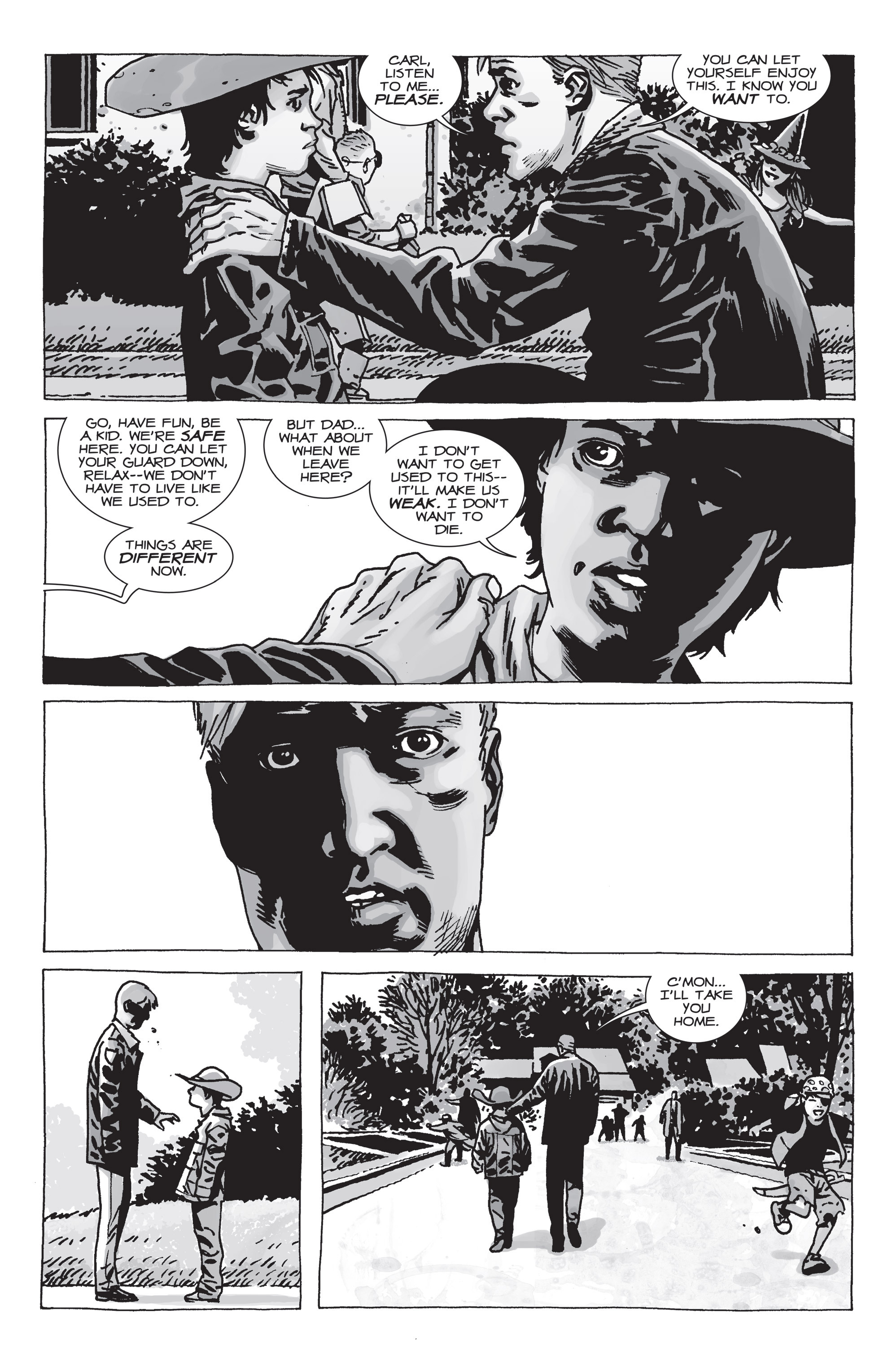 The Walking Dead Issue #71 Page 17