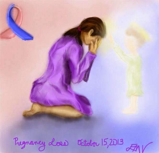 Pregnancy and infant loss graphics