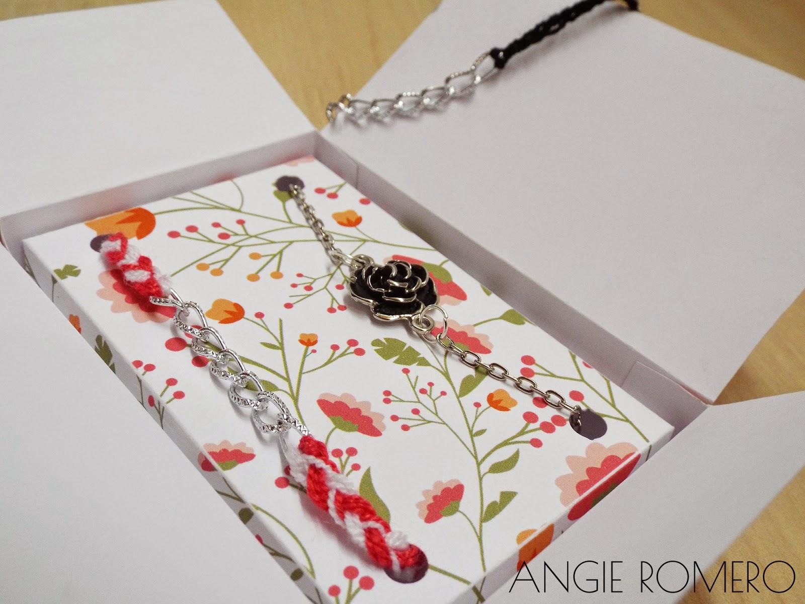 DIY cajas decoradas para accesorios joyería pulseras aretes collares
