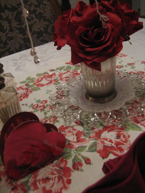 Le Beau Paon Victorien Tablescape Thursday Valentines