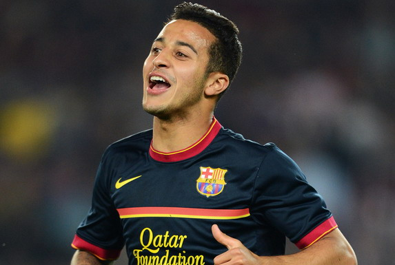 Thiago Alcántara leaves Barcelona after two full seasons with the first team