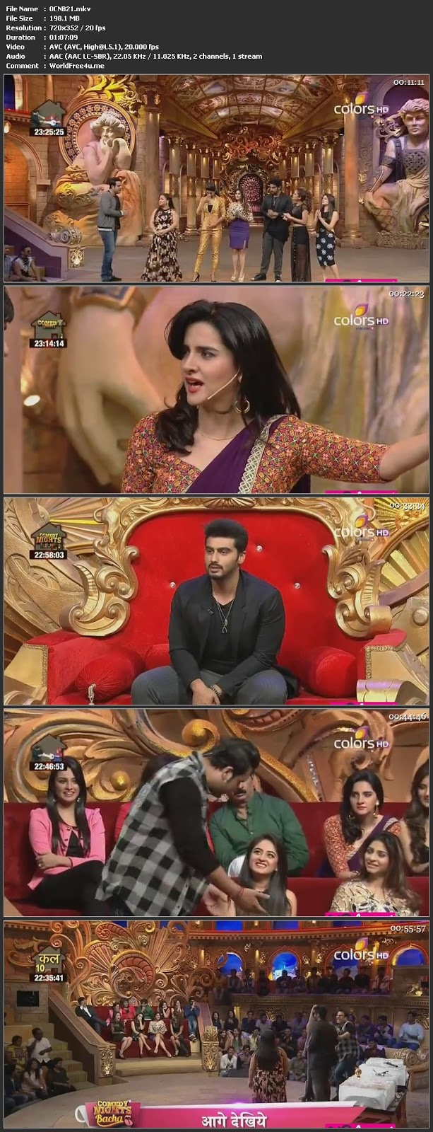 Screen Shot Of Comedy Nights Bachao 30th January 2016 Episode 21 200MB Watch Online
