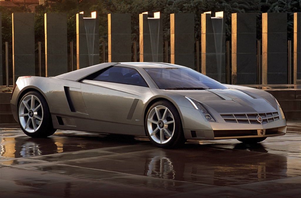 sports car: Cadillac Cien Concept Car