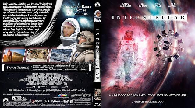 Capa Bluray Interstellar