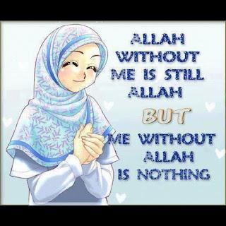 Catatan Kecil Kartun Muslimah Comel Dan Cantik