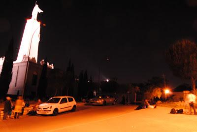 Al Cerro de los Ángeles (Getafe) acudió La Quinta Esfera en la Alerta Ovni 2012.