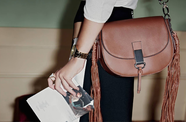 Parfois Tassel Bag