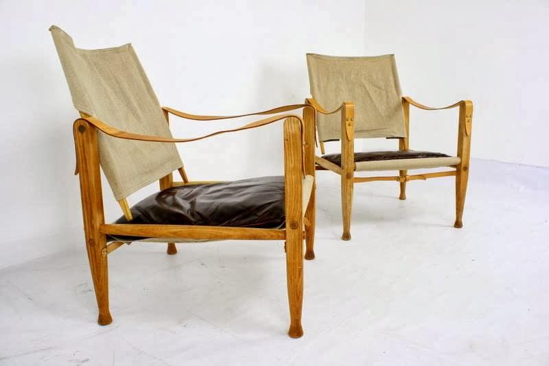 Mid2Mod In the store Kaare Klint safari chairs
