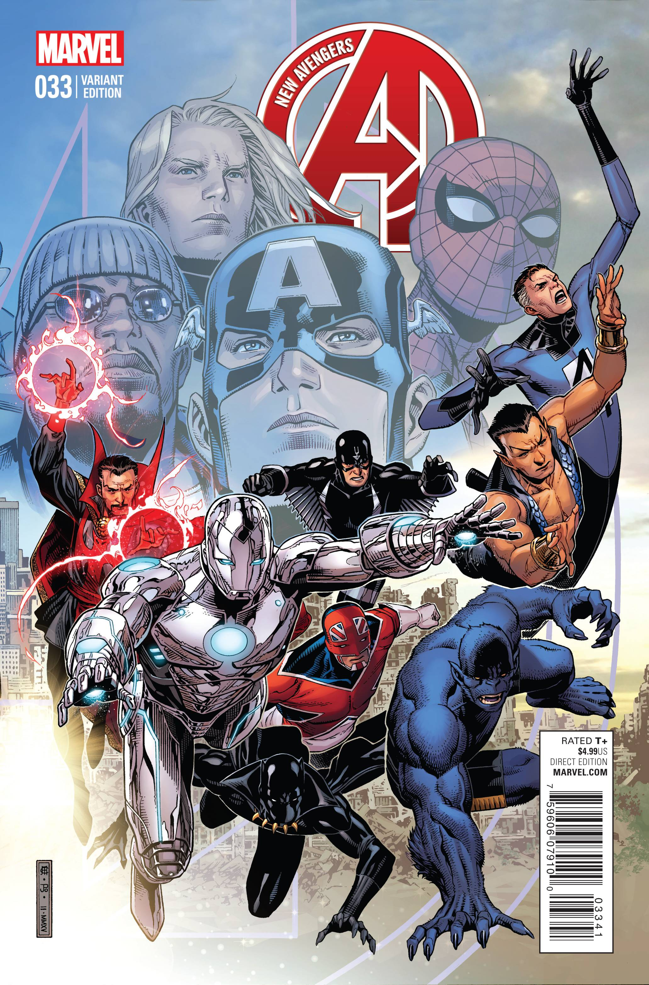 New Avengers (2013) Issue #33 #34 - English 4