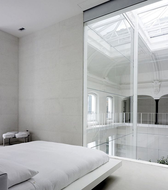 Soothing minimalist bedrooms for a simple life | Image by Joachim Wichmann via Lissoni Assosiati