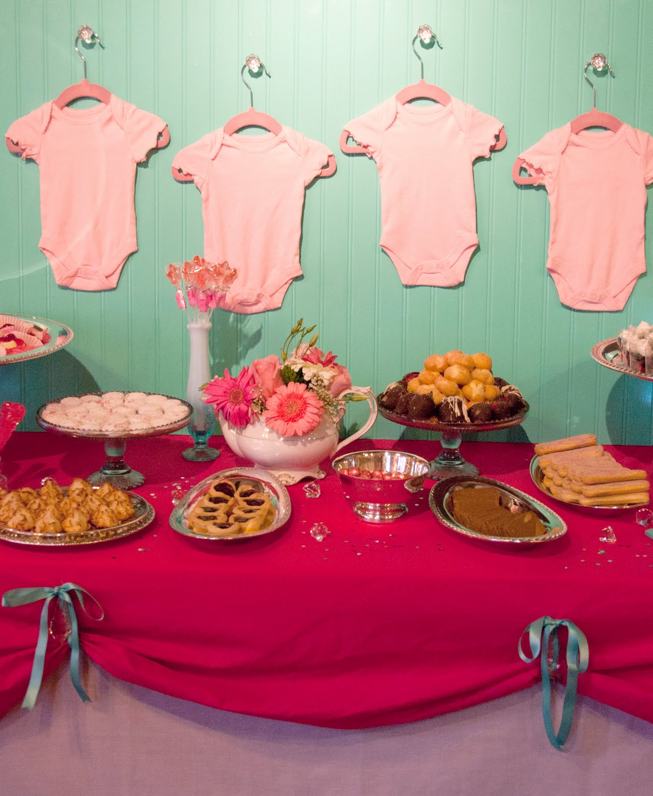simply sweet event design modern tea party baby shower