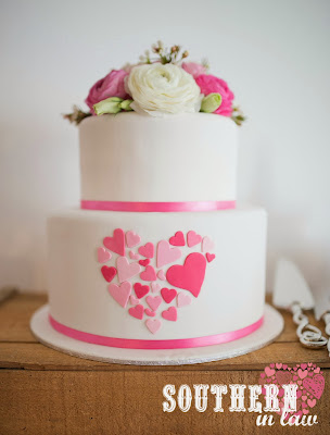 Gluten Free Wedding Cake Sydney - Sweetcheeks Cookies and Cakes - Two Tiered Wedding Cake with Fresh Ranunculus