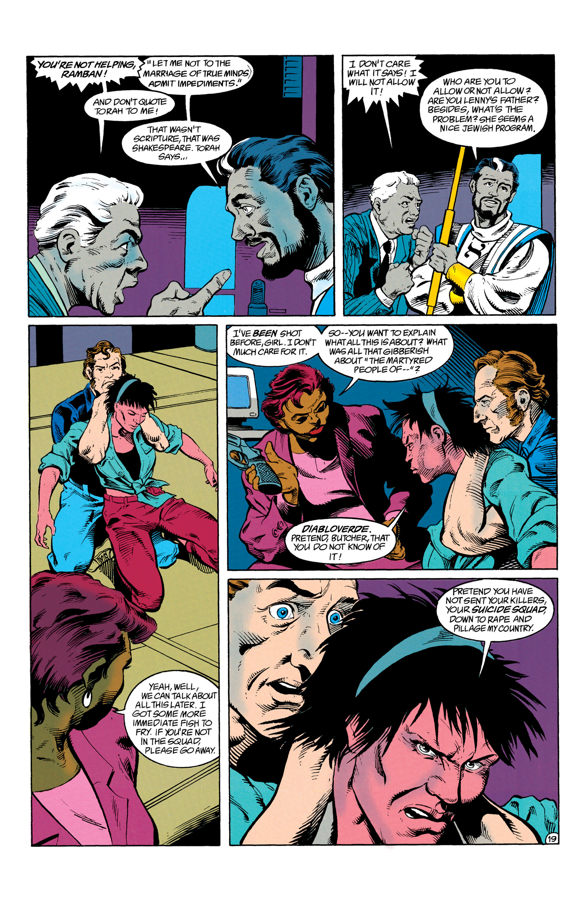 Read online Suicide Squad (1987) comic -  Issue #63 - 20