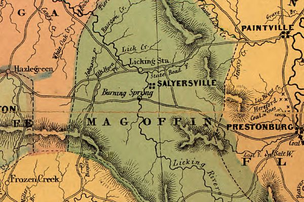 Eastern Kentucky and the Civil War Events in Magoffin County