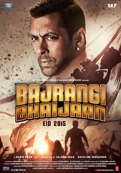 Poster Of Bajrangi Bhaijaan 2015 720p BRRip Hindi