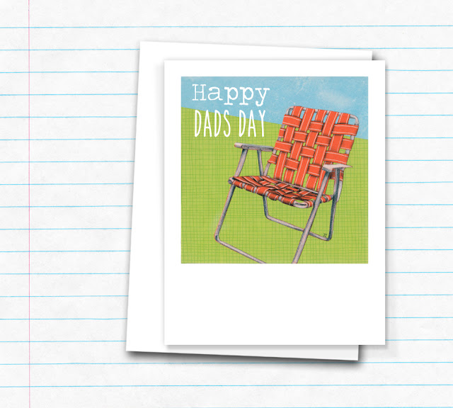 Father's Day Card by Jennifer Johansson