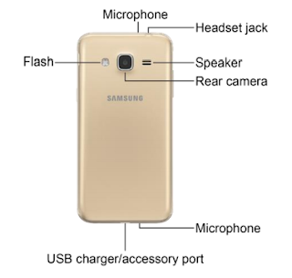 Samsung Galaxy J3 - Back