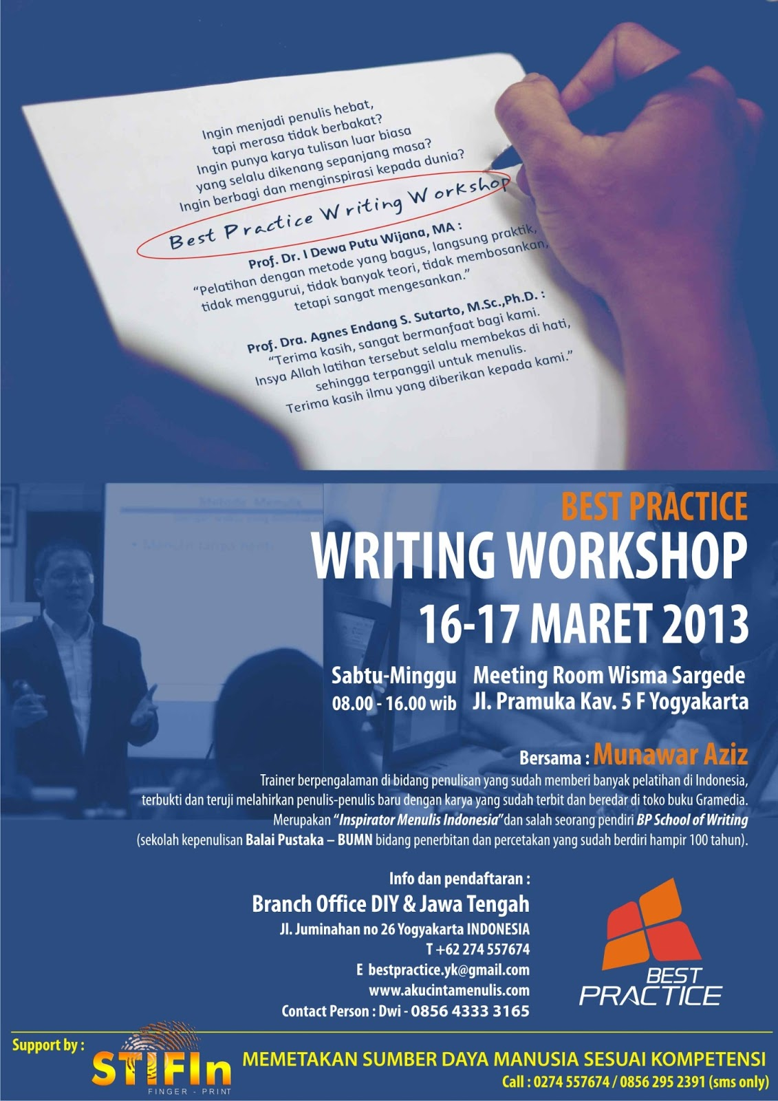 Workshop Menulis