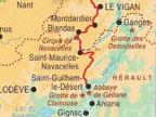 サン・ギエム・ル・デゼールの道