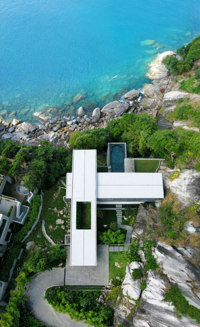 Information hub of besties beautiful villa amanzi in for Minimalist house thailand