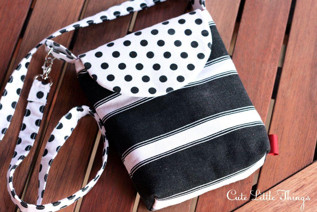 Как сделать сумку через плечо своими руками из ткани