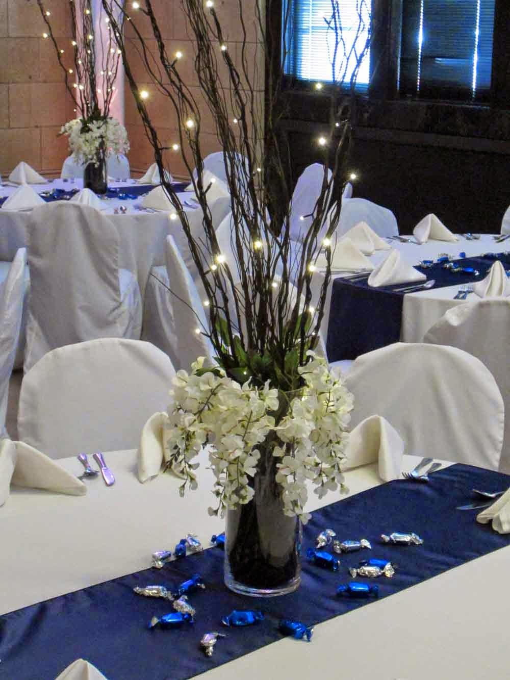 Get The Look Elegant Navy Reception Elite Events Rental