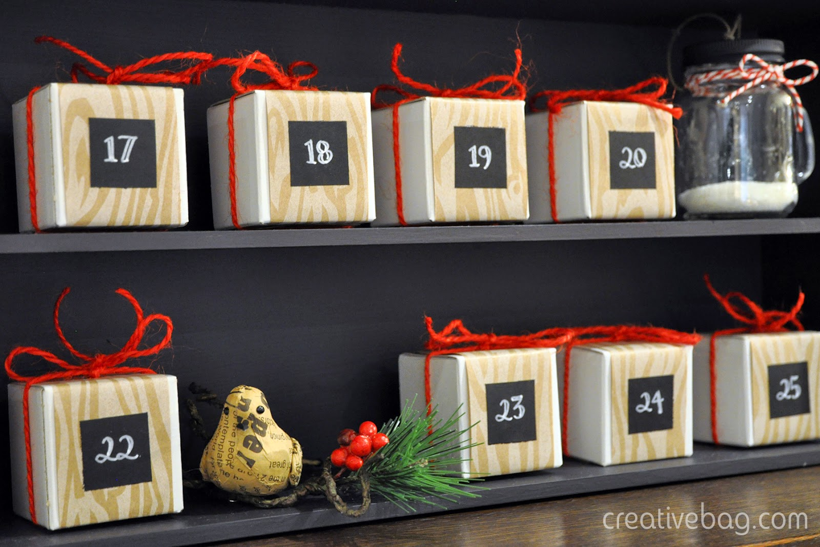 countdown to the holidays with products from Creative Bag
