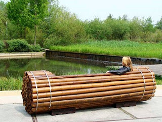 Banco de Bambú, Muebles Ecoresponsables