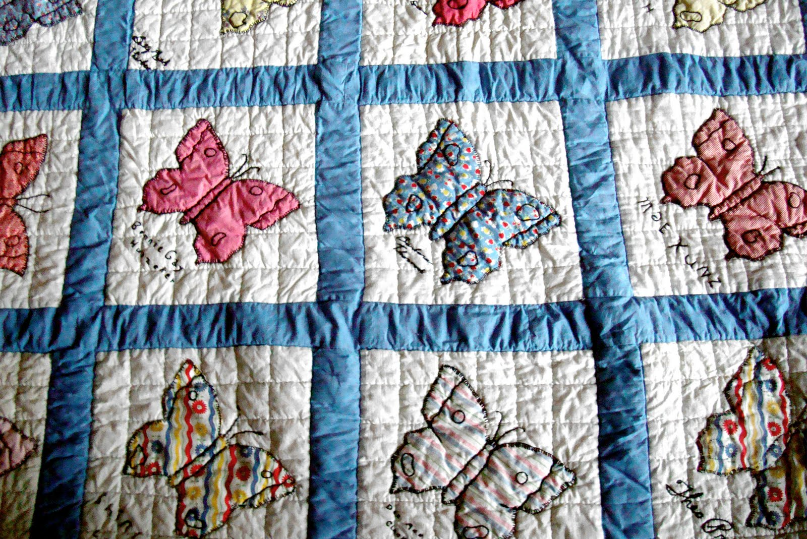 Vintage Quilt - Freda's Hive : names of quilts - Adamdwight.com