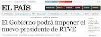 Reacciones de los medios al decreto sobre TVE