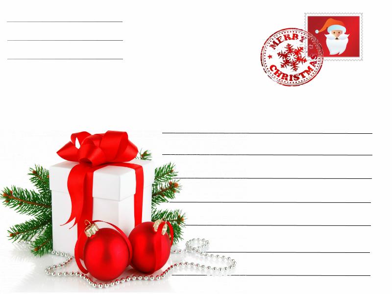 Postal Natal Prendas A