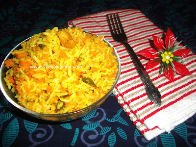 images for Carrot Rice / Carrot Rice Recipe - Lunch Box Recipe