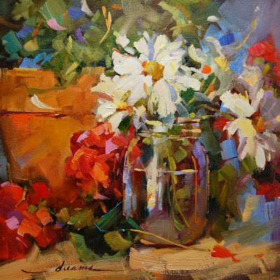 """Dreama's Daisies""  Artist Dreama Tolle Perry"