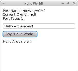 Communication between Arduino and PC running Java, with JavaFX UI
