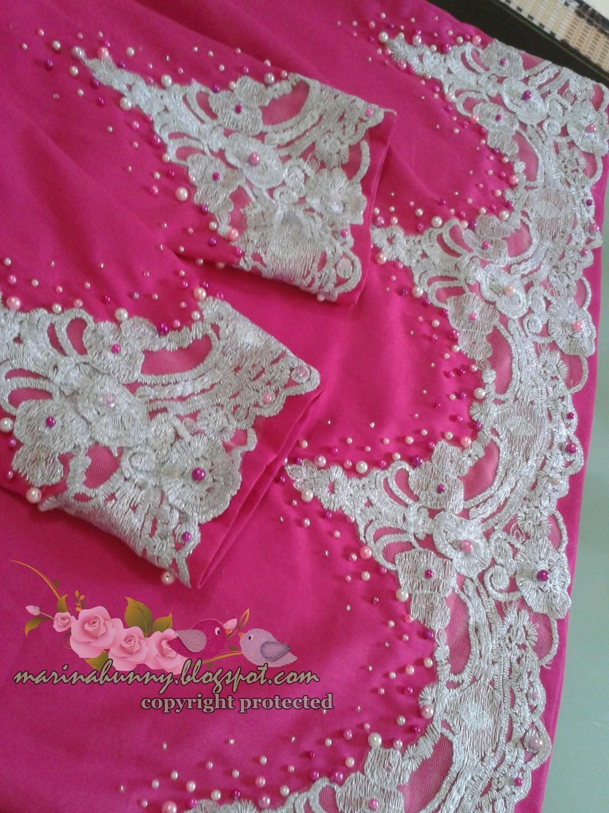 Cara Menjahit Baju Lace Manik   manik crumble baju peplum ...