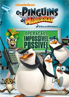 Baixar Os Pinguins de Madagascar – Operação: Impossível Possível – DvdRip Dual Áudio + RMVB Dublado