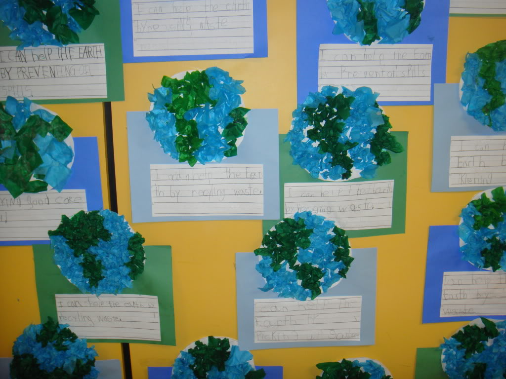 Classroom Ideas For Earth Day : It s not easy being green earth day ideas clutter free