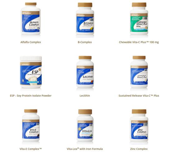 produk vitamin shaklee bagus untuk kesihatan