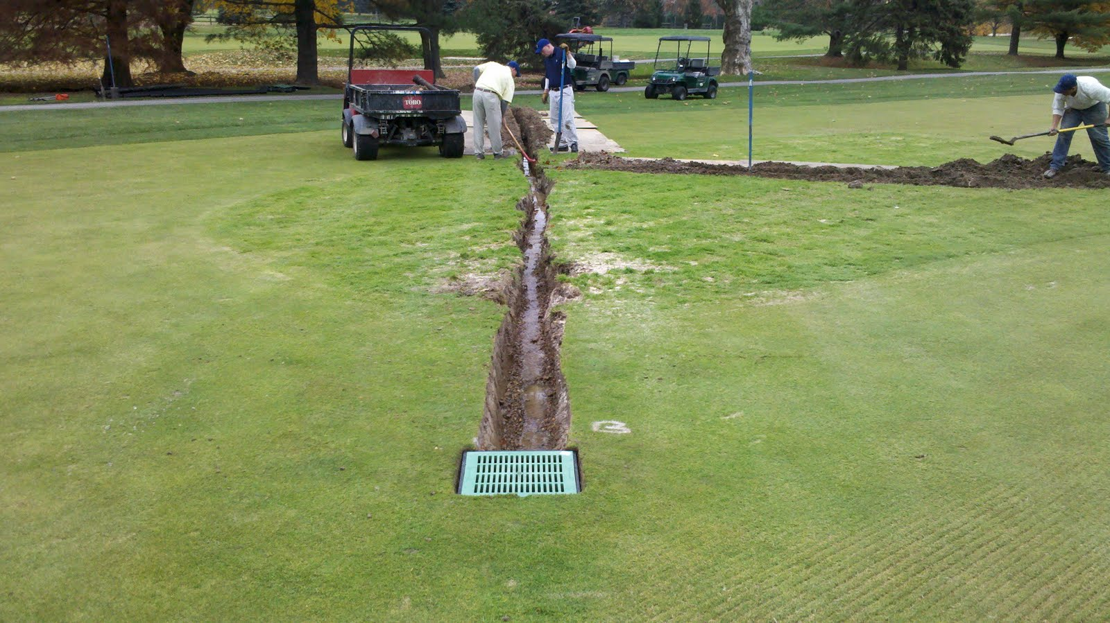 Drainage For 1 Fairway