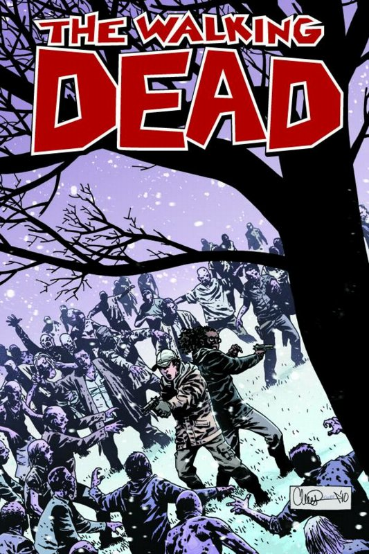 how many issues of walking dead are there
