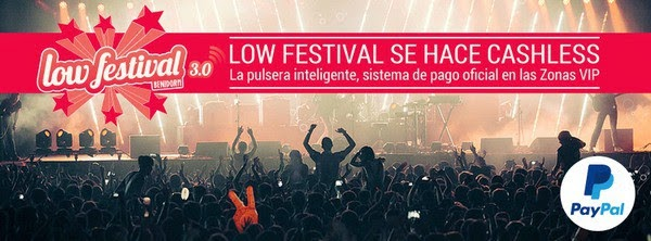 Low Festival se hace cashless