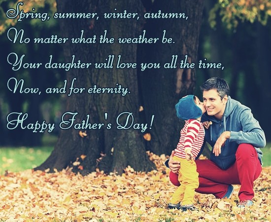 Fathers-Day-Quotes-From-Daughter-a-very-first-love-for-life