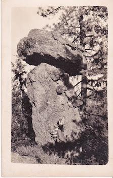 Native American RPPC. Unspecified location. Patterson Photo Studio. Blank reverse.